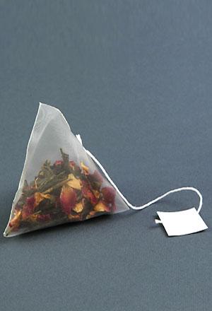 Pyramidal filter bag